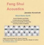 Feng Shui ACOUSTICS Clearing Cd by Jaroslav Kovaricek
