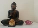 bouddha ganesh and lotus