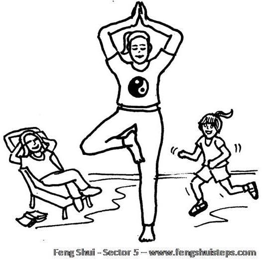 Feng shui secteur 5 feng shui facile - Feng shui facile ...