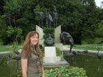Roseline Deleu et son arriere grand pere Leopold II