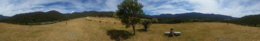 Roseline Deleu landscape view Tidbinbilla path