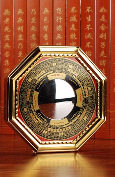 Miroir concave ou convexe feng shui facile for Miroir convexe