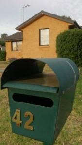 mailbox before